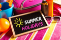 Happy summer holidays card - PhotoDune Item for Sale