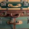 Colorful vintage suitcases - PhotoDune Item for Sale