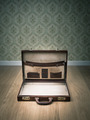 Open vintage briefcase - PhotoDune Item for Sale