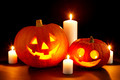 Halloween pumpkin with candles - PhotoDune Item for Sale