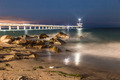 Bridge in Sea at Night - PhotoDune Item for Sale