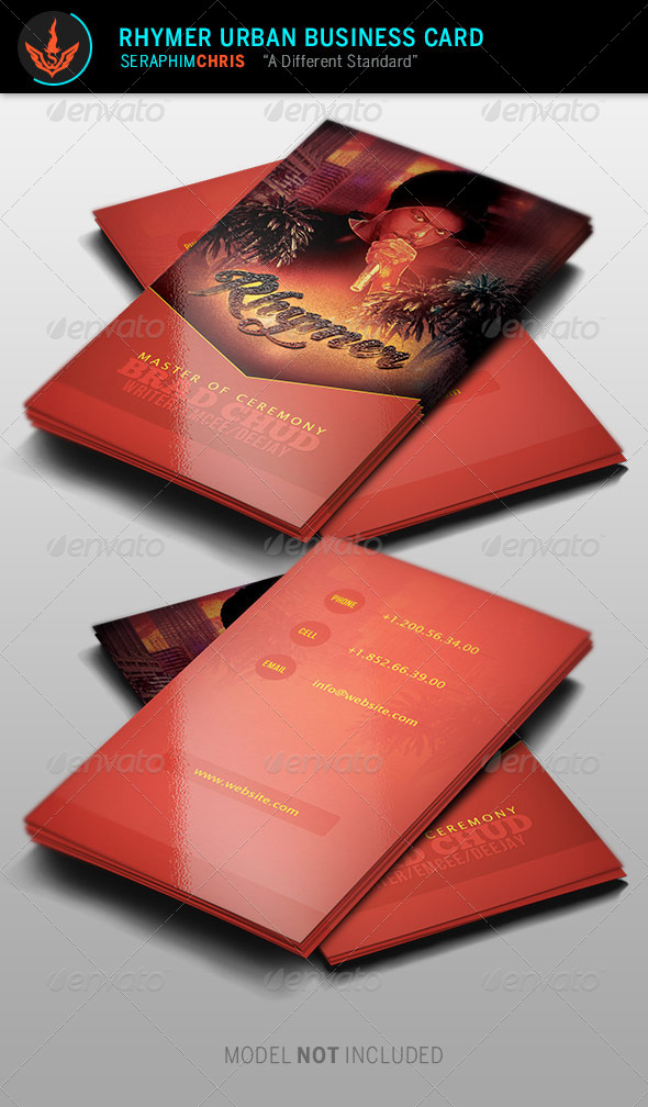 GraphicRiver Rhymer Urban Business Card Template 8677445