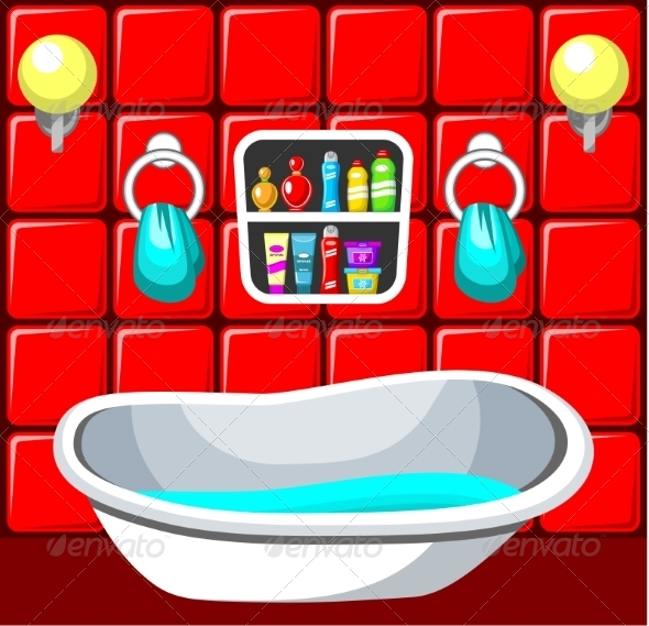 GraphicRiver Bathroom 8677636