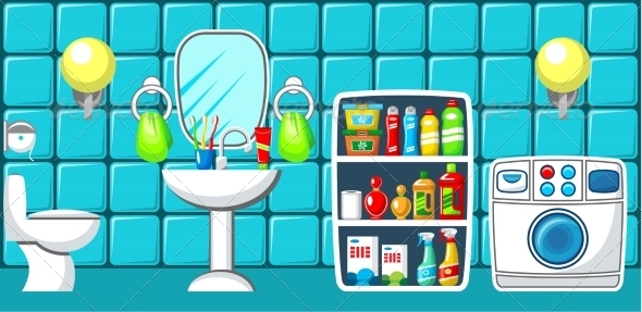 GraphicRiver Bathroom 8677641
