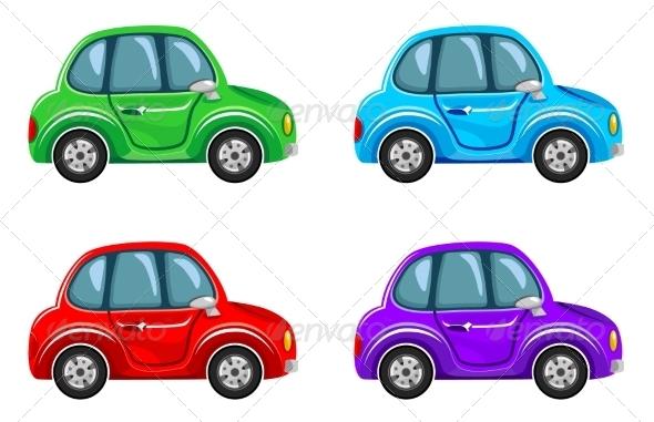 GraphicRiver Cartoon Cars 8677642