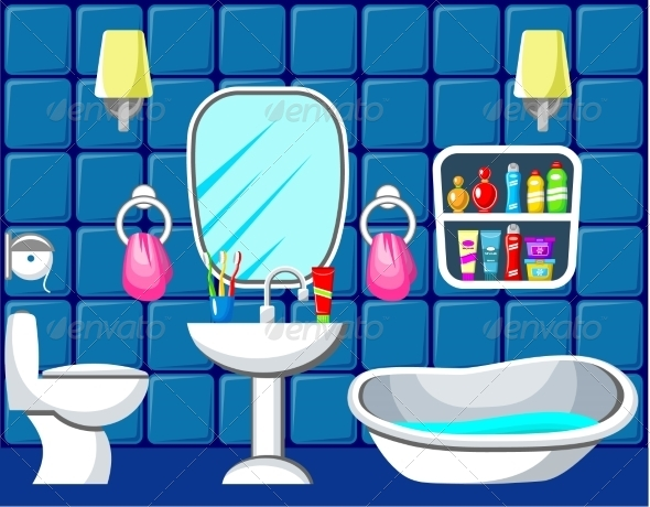 GraphicRiver Bathroom 8677653