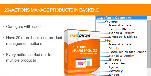 CodeCanyon 20 Plus Actions Manage Products in Backend 8677778