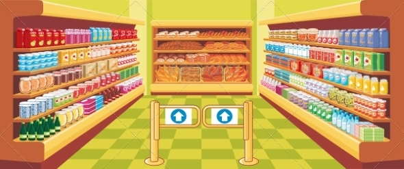 GraphicRiver Supermarket 8677853