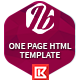 Itobuz One Page HTML Template - Business Corporate