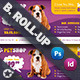 Pet Shop Billboard Roll-Up Template - GraphicRiver Item for Sale