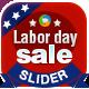 Labor Day Sale Slider - GraphicRiver Item for Sale