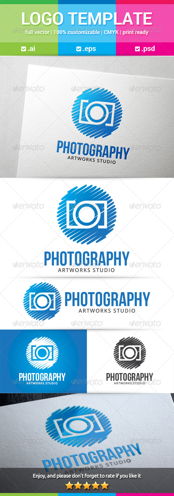 GraphicRiver Photography Logo 8678433