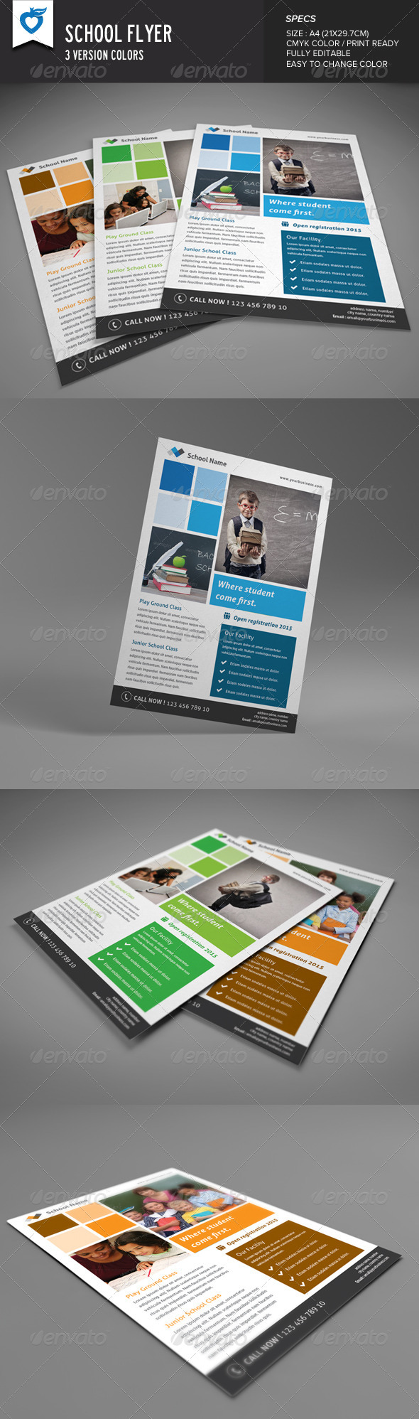 GraphicRiver School Flyer 8678525