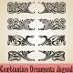 Combination Ornaments Jugend - GraphicRiver Item for Sale