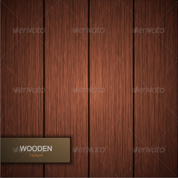 GraphicRiver Vector Modern Wooden Background 8678569