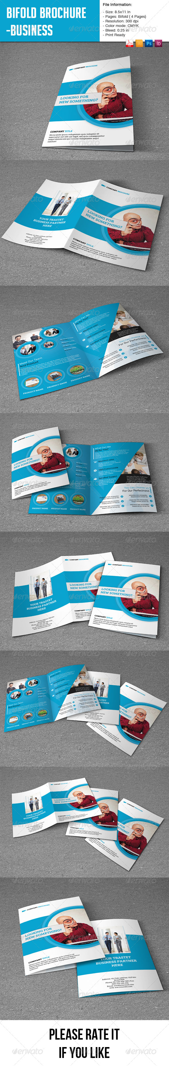 GraphicRiver Flexible Bifold Brochure for Business-4 pages 8678773