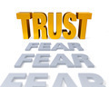 Trust Replaces Fear - PhotoDune Item for Sale