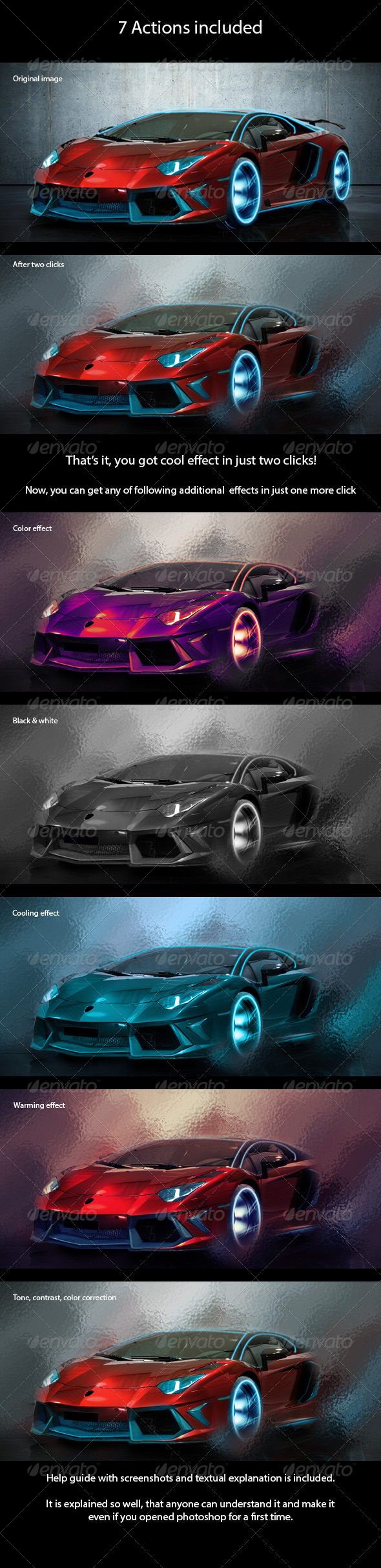GraphicRiver Car Effect Action 8659870