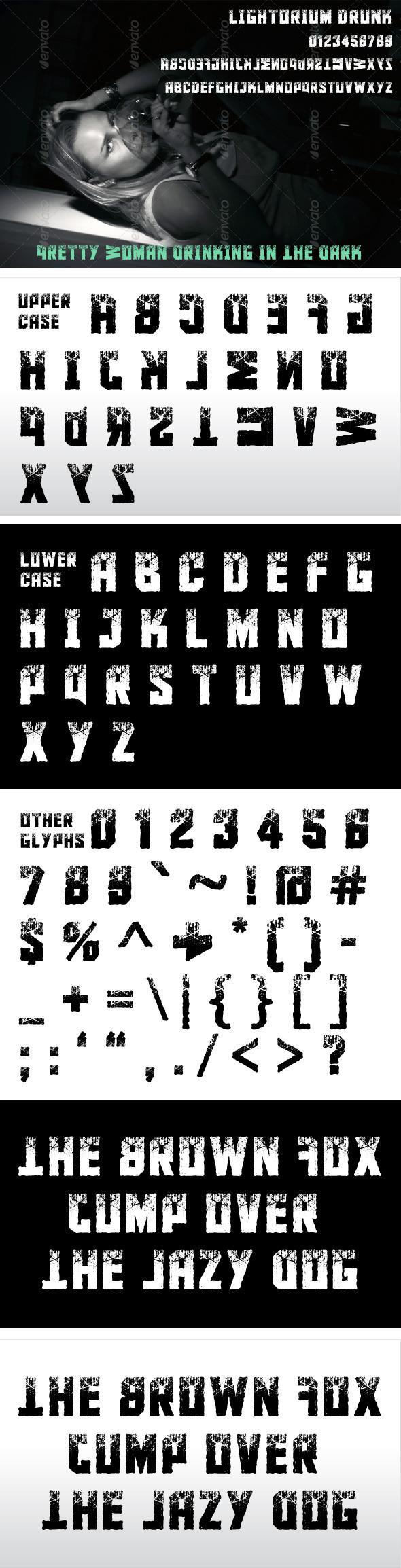 GraphicRiver Lightorium Drunk 8678899