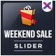 Weekend Sale Slider - GraphicRiver Item for Sale