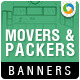 Packers & Movers Banners - GraphicRiver Item for Sale