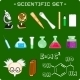 Set of Scientific Icons - GraphicRiver Item for Sale