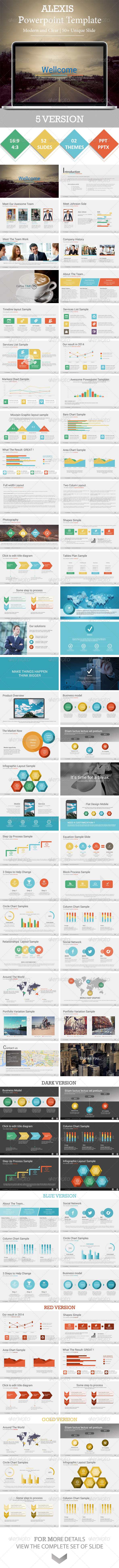 GraphicRiver ALEXIS Powerpoint Presentation Template 8679134