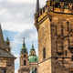 View of colorful old town in Prague taken from Charles bridge, Czech Republic - PhotoDune Item for Sale