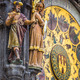 Detail of the Prague Astronomical Clock (Orloj) in the Old Town of Prague - PhotoDune Item for Sale
