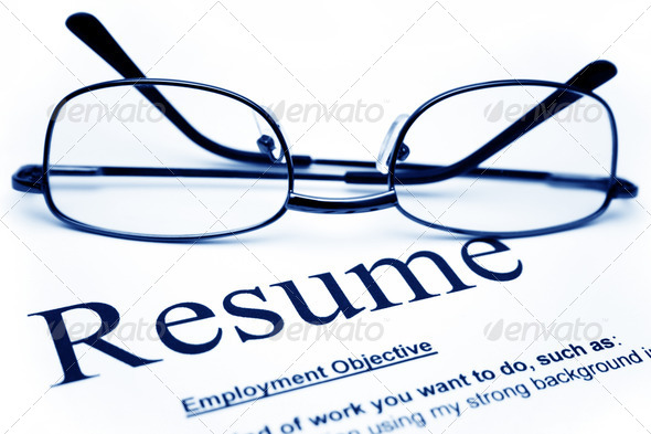 Resume - Stock Photo - Images