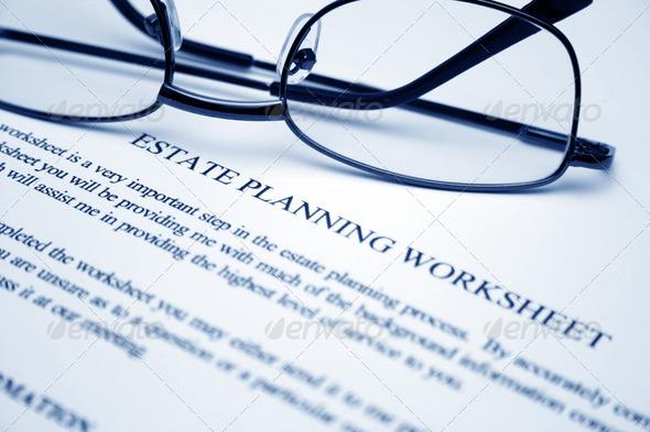 PhotoDune Estate planning worksheet 883988