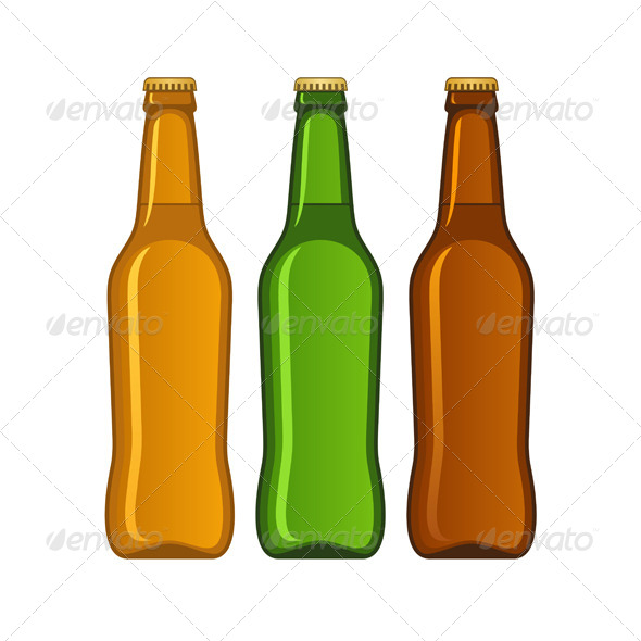 GraphicRiver Beer Bottles 8679761