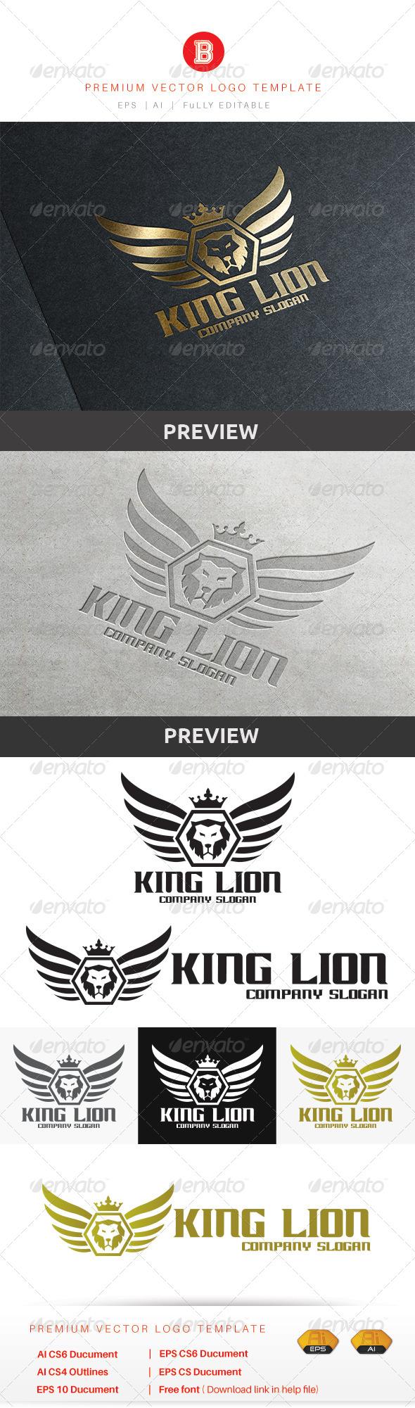 GraphicRiver King Lion 8679763