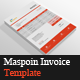 Maspoin Invoice Templates - GraphicRiver Item for Sale