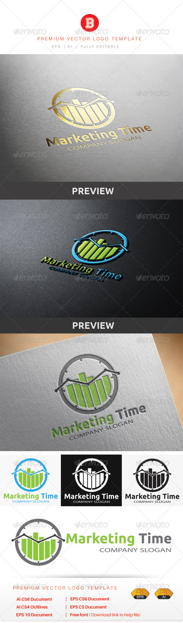 GraphicRiver Marketing Time 8679855
