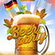 Beer Party Flyer Template - GraphicRiver Item for Sale