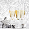 Champagne and decoration - PhotoDune Item for Sale