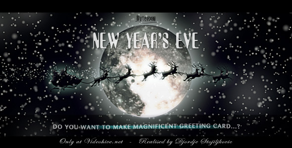After Effects Project - VideoHive New Year's Eve 884021