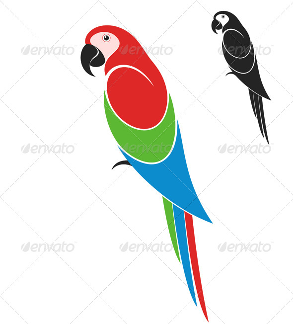 GraphicRiver Parrot 8680007
