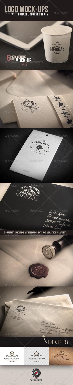 GraphicRiver Photorealistic Logo MockUp Vol.2 8431713