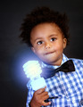 Little genius with illuminated lamp - PhotoDune Item for Sale