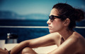 Beautiful female on the yacht - PhotoDune Item for Sale