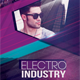 Electro Industry Flyer Template - GraphicRiver Item for Sale