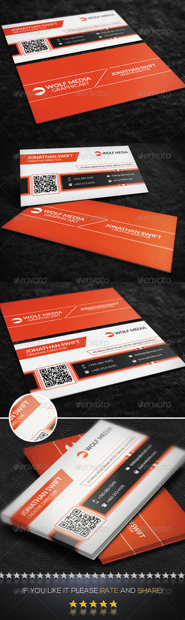 GraphicRiver Modern Corporate Business Card 8680542