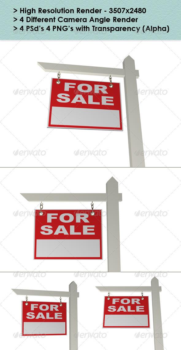GraphicRiver Real Estate Sign 8680669