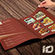 Elegant Food Menu Template - GraphicRiver Item for Sale