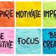 inspire, motivate, improve notes - PhotoDune Item for Sale