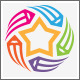 Star Art Pencil Graphic Design Studio Logo - GraphicRiver Item for Sale
