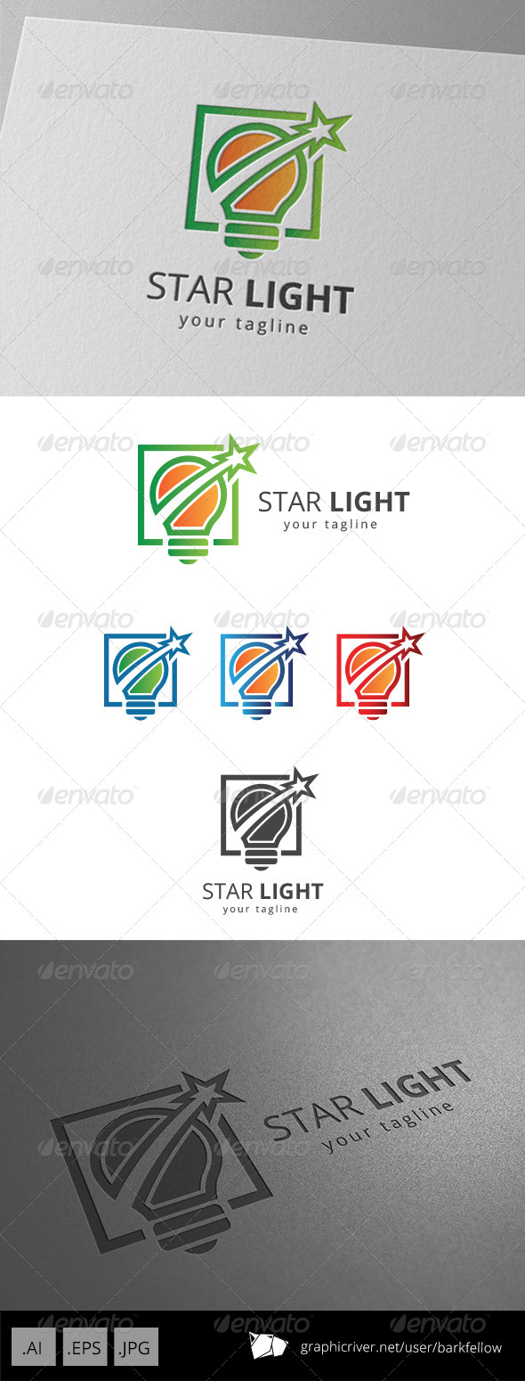 GraphicRiver Star Light Logo 8681293