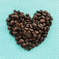 heart coffee beans - PhotoDune Item for Sale